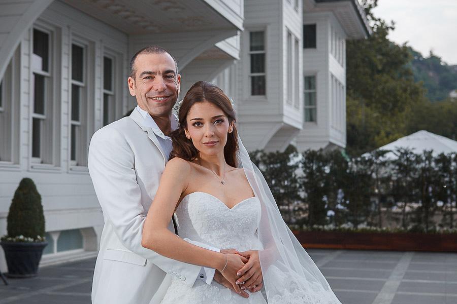 Les Ottomans düğün gelin ve damat