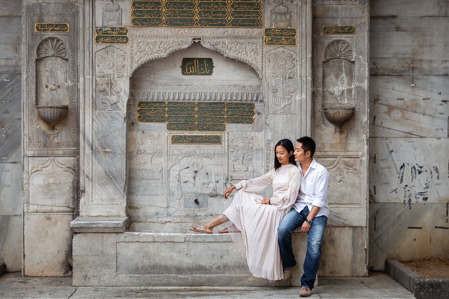 Istanbul engagement session