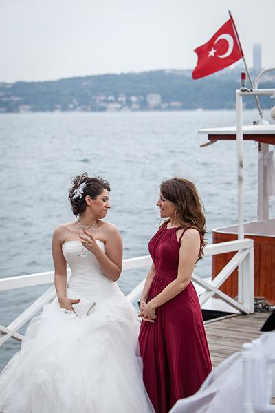 boğaz kenarında düğün