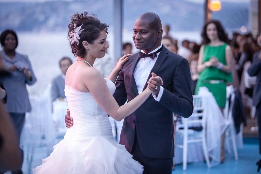 Cubuklu Hayal Kahvesi düğün: ilk dans