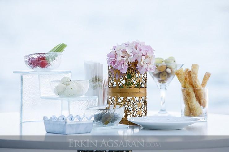 Düğün kokteyl dekorasyonu