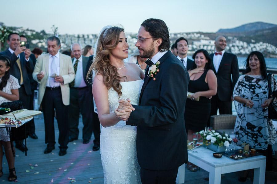 wedding in bodrum : first dance