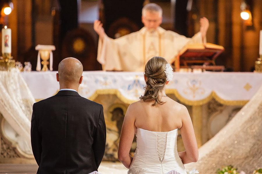 St. Antoine church wedding ceremony