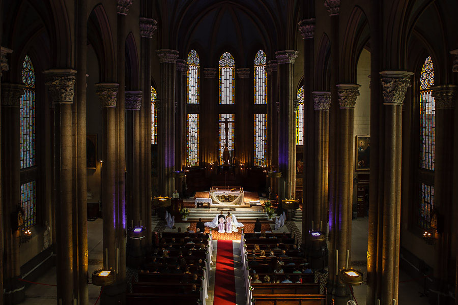 St. Antoine church wedding