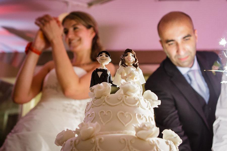 wedding cake at istanbul wedding reception