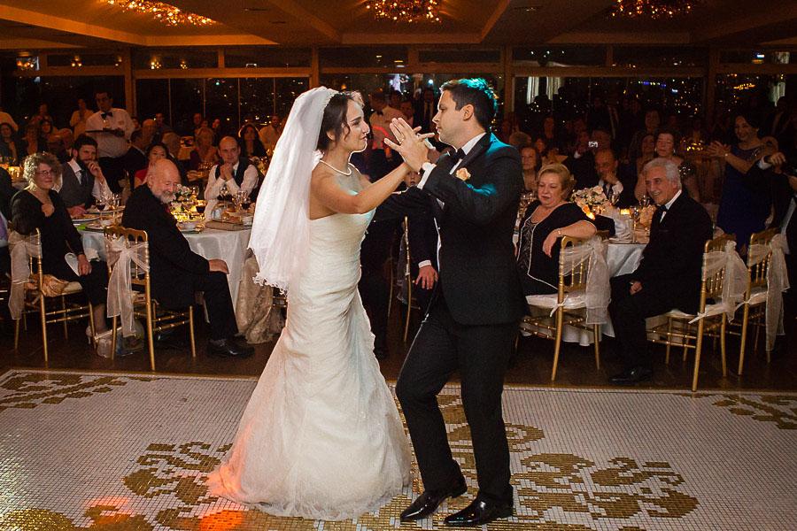 Bridge restaurant düğün ilk dans