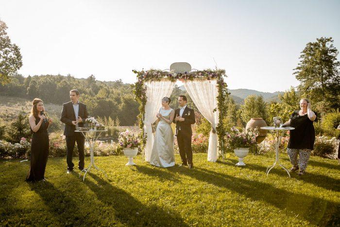 Casa Lavanda'da Düğün Nikah seramonisi