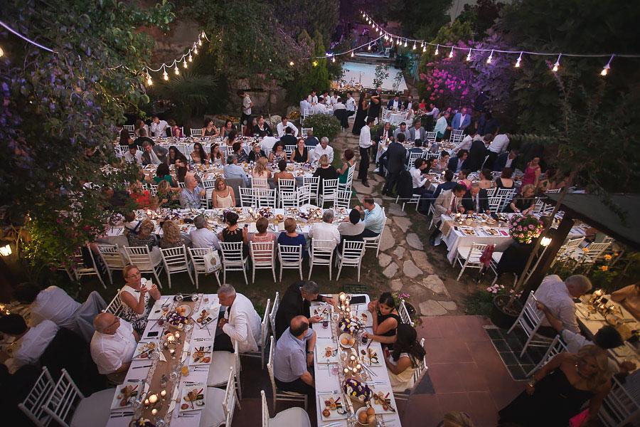 diy garden wedding in istanbul