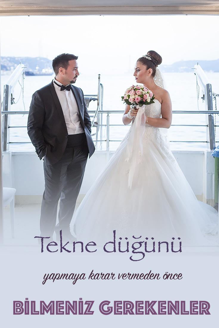 Tekne düğünü yapmaya karar vermeden bilmeniz gerekenler