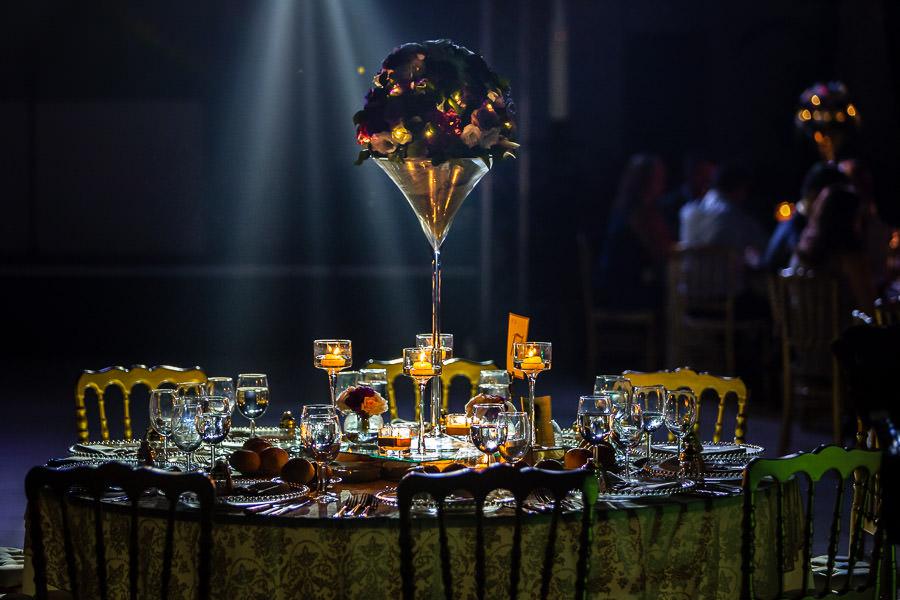 Faruk Ilgaz tesisleri düğün masa süslemeleri