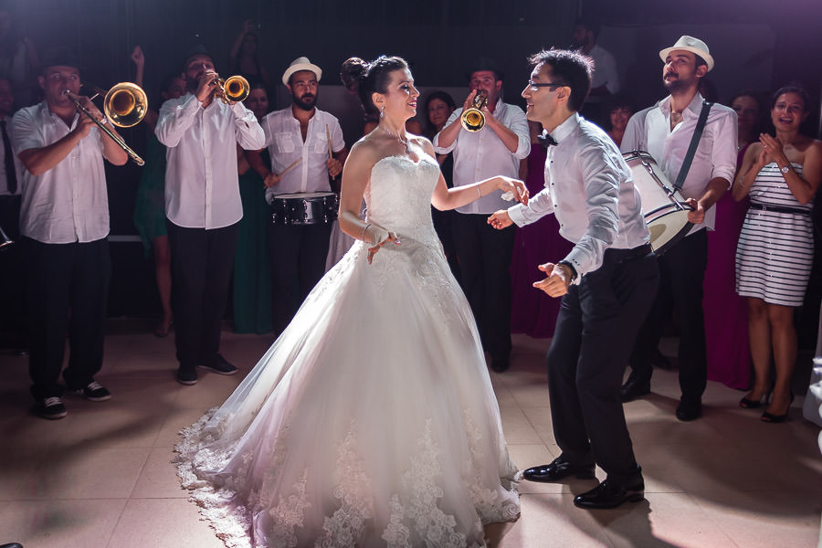 Düğünde Balkan bandosu