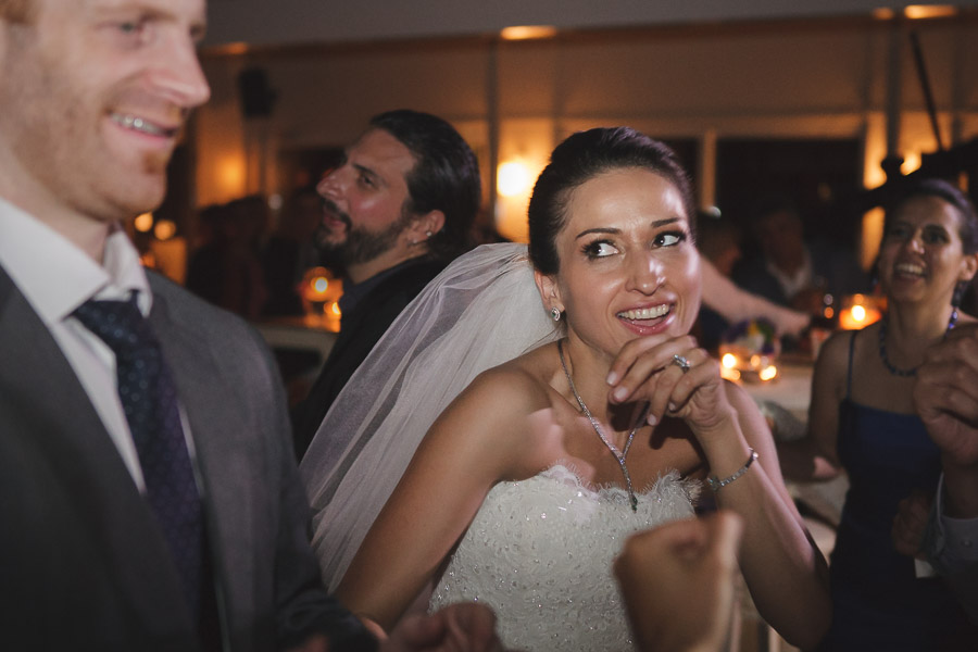 after party at Moda Deniz Club wedding