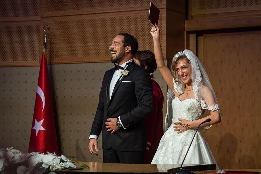 Wedding ceremony Kadikoy