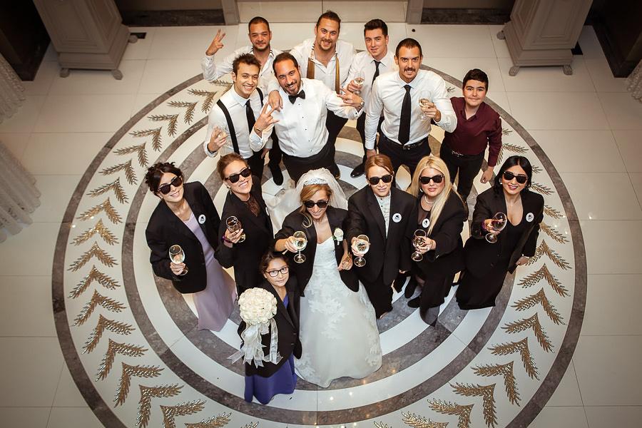 Wedding party at Wyndham Grand Kalamis