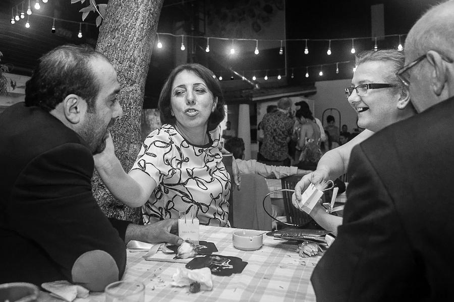 Guests at a table at Giritli