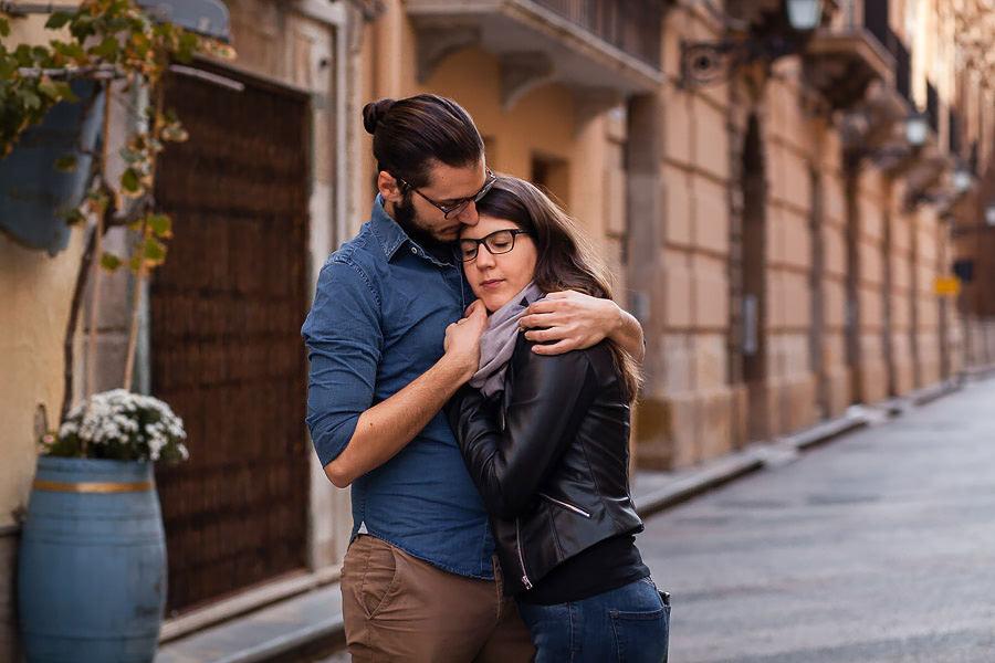 sicily couple portrait