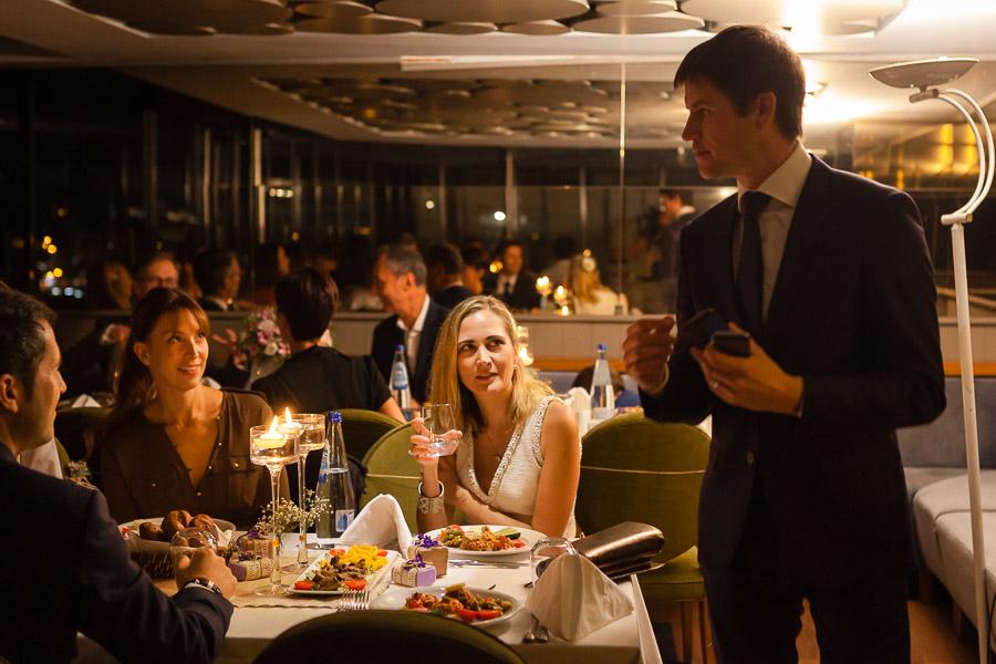 intimate istanbul wedding at galata