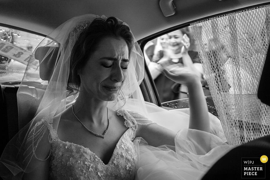 Geniş açı ile düğün fotoğrafı