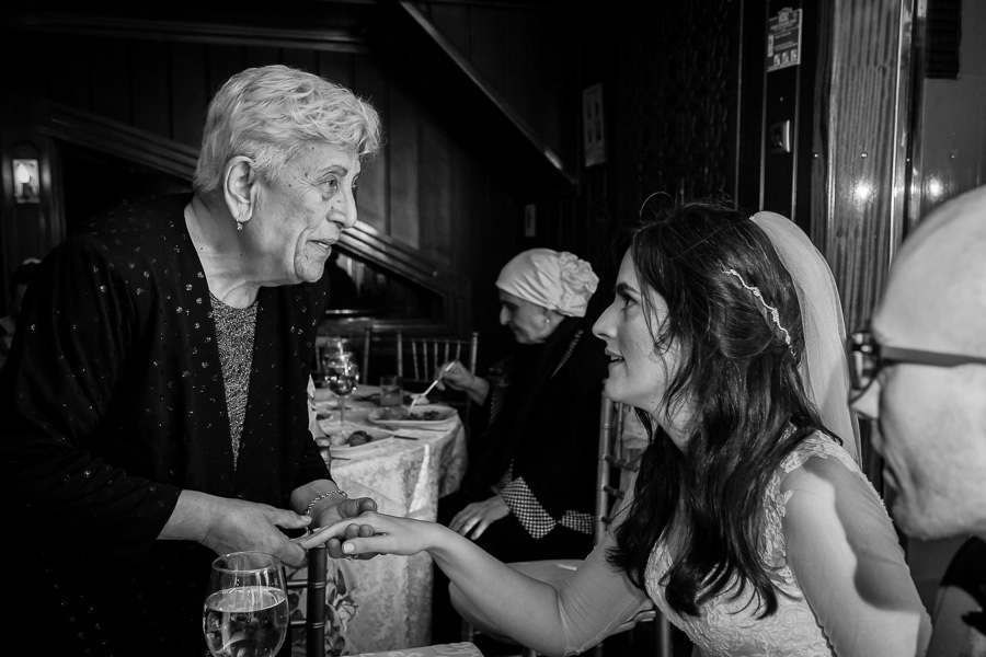 bride and old woman